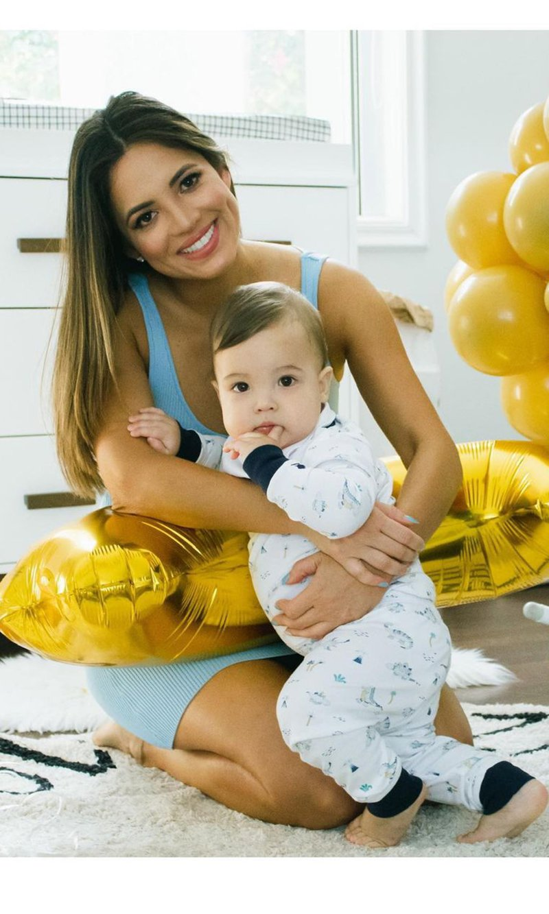 Pamela Silva and her baby, Ford Liam