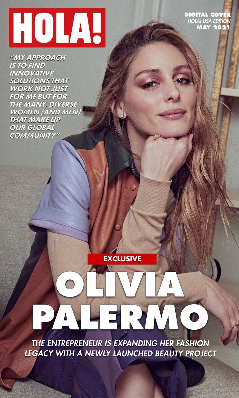 Olivia Palermo HOLA! USA Digital Cover