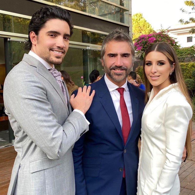 Alejandro Fernández, Alejandro Fernández Jr. and Alexia Hernández