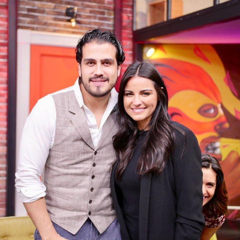 Maite Perroni and Andrés Tovar