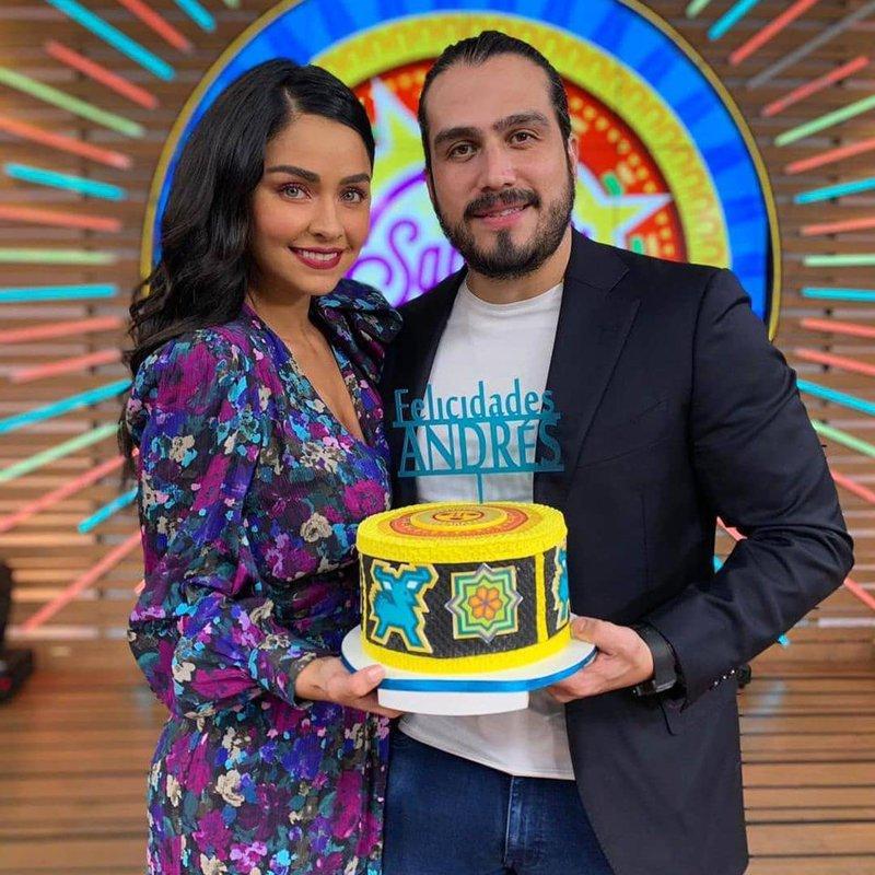 Ana Martín and Andrés Tovar