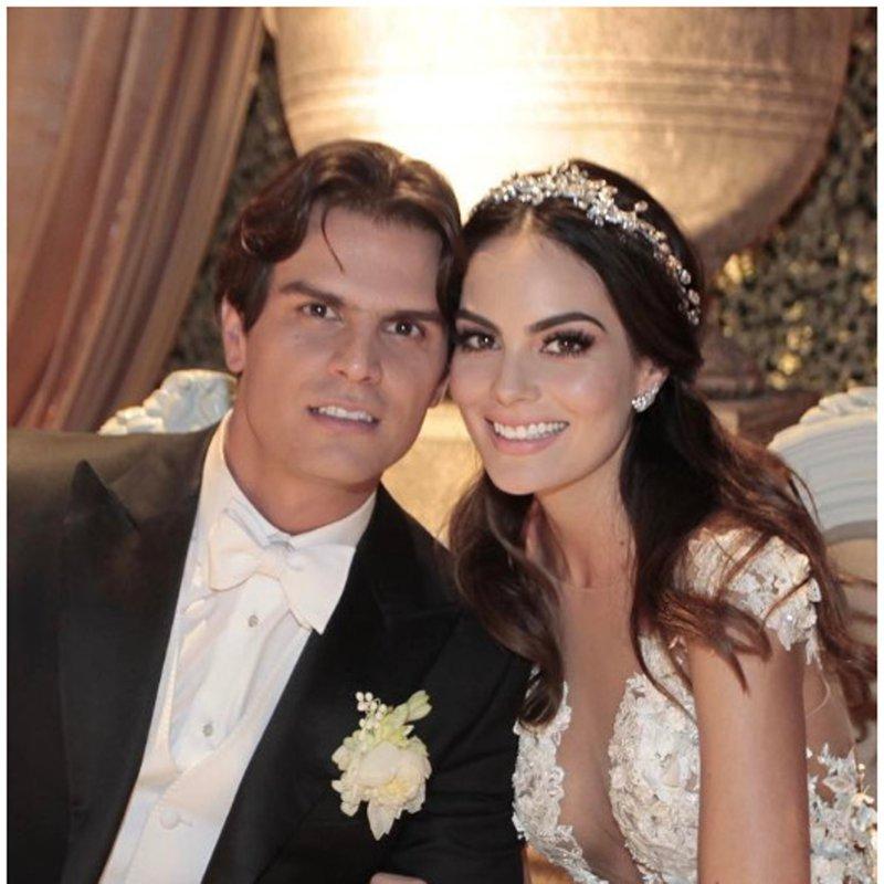 Ximena Navarrete and Juan Carlos Valladares said yes