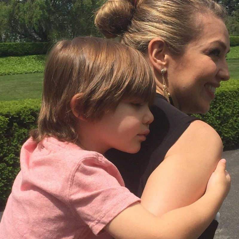 Thalía and her son