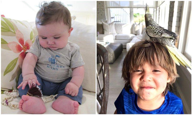 Thalia's son