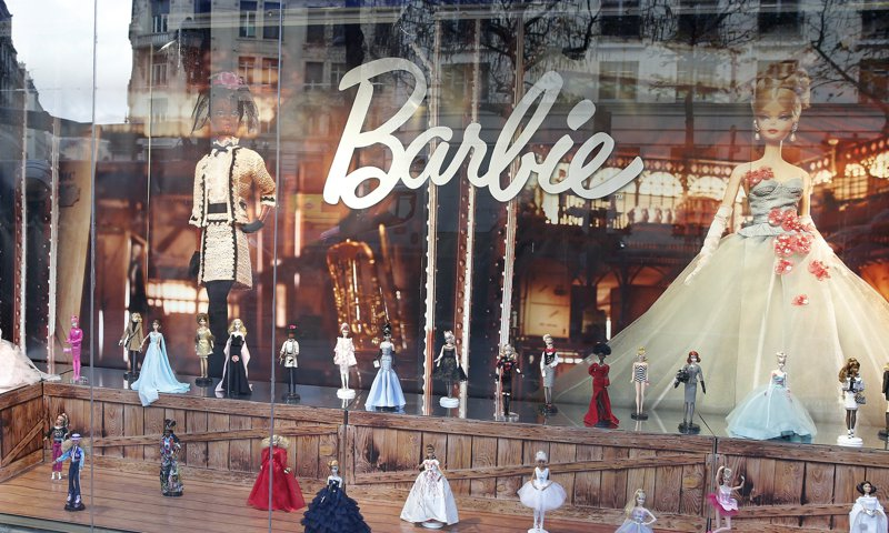 Toy Shops Display Their Christmas Collections In Paris