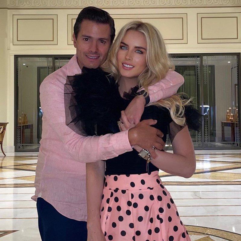 Enrique Peña Nieto and his girlfriend
