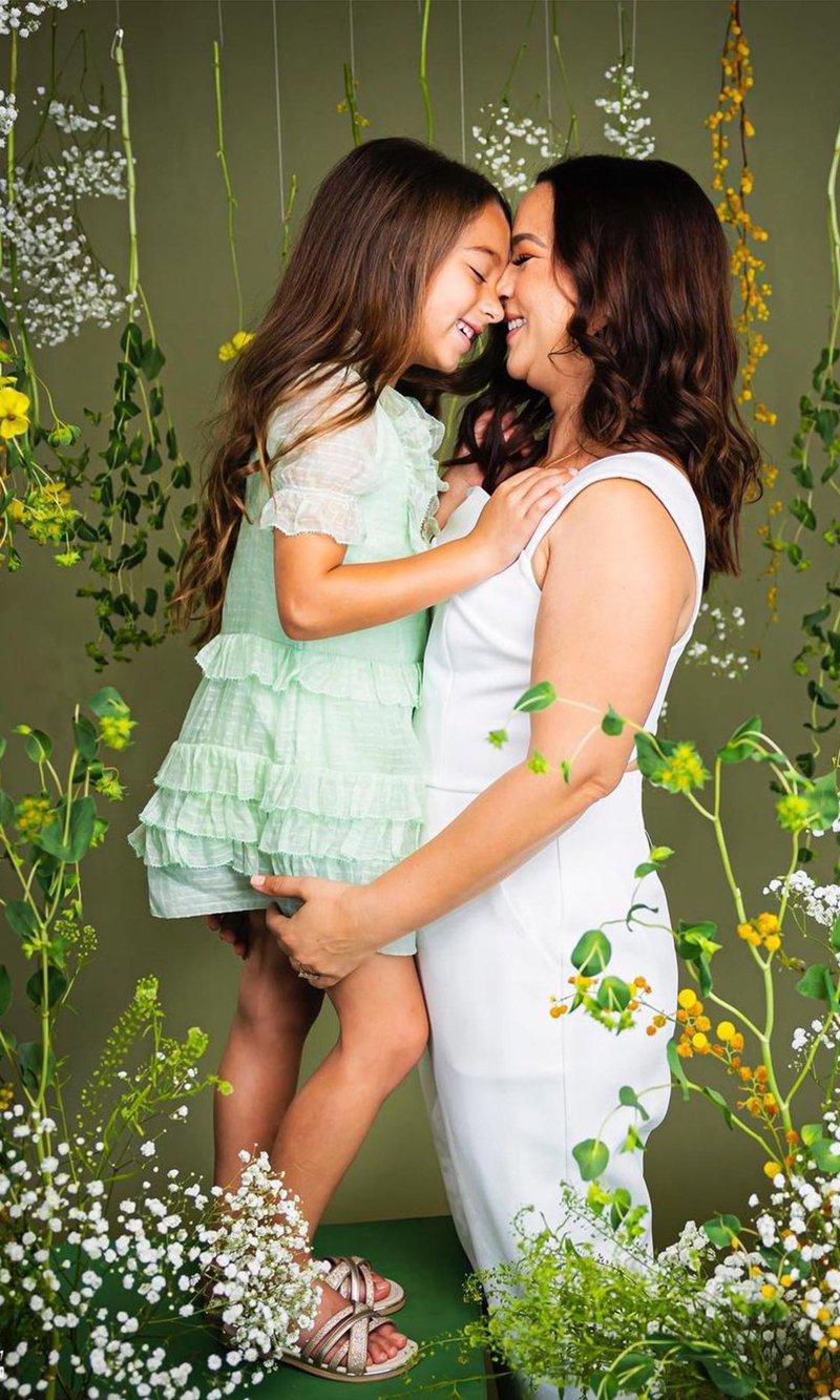Adamari López and her daughter Alaïa