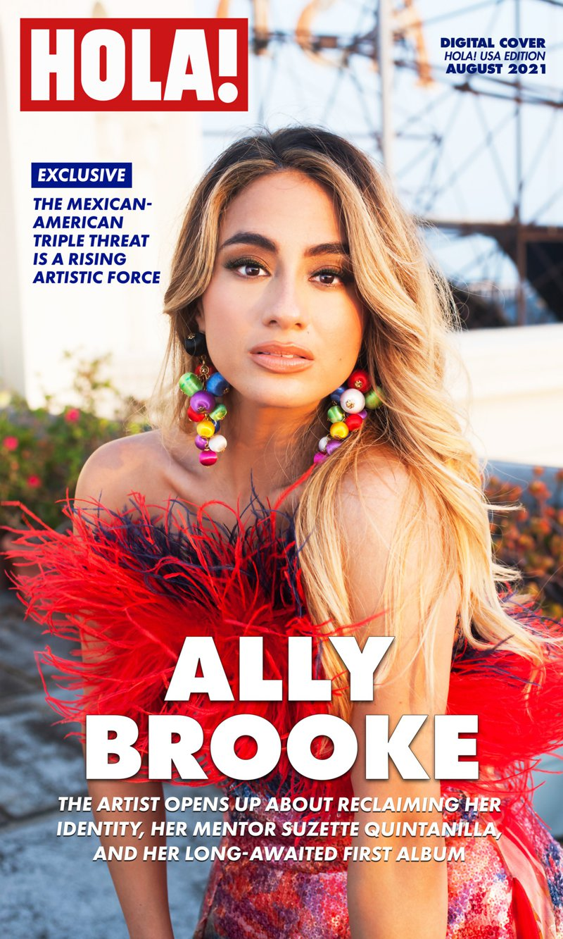 Ally Brooke HOLA! USA Digital Cover