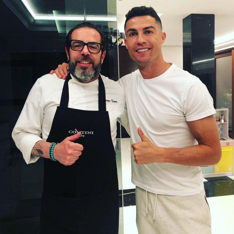 Cristiano Ronaldo y su dieta para estar en forma