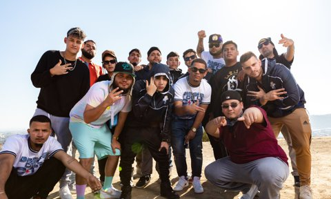 Group Portrait for Red Bull Batalla National Finals in Los Angeles, CA