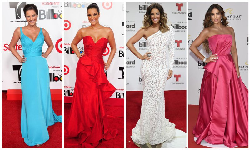 Gaby Espino y sus looks en los Premios Billboard de la Música Latina