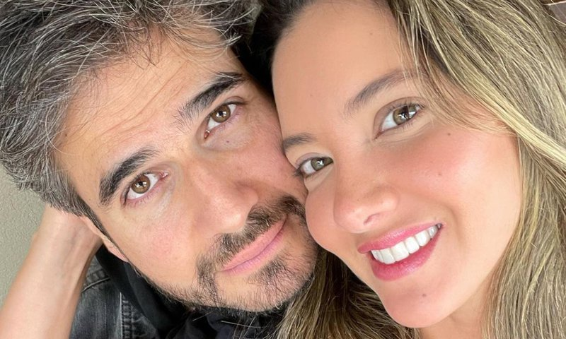 Daniel Arenas celebra la buena noticia sobre la salud de Daniella Álvarez