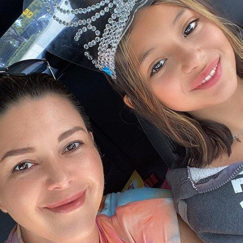 Alicia Machado y su hija