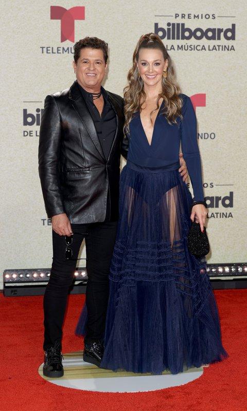 Carlos Vives y su esposa Claudia Elena