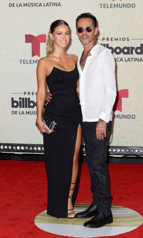 Marc Anthony y su nueva novia