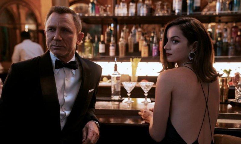Ana de Armas, James Bond, No Time to Die