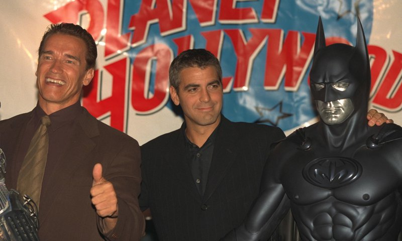 PARIS FILM PREMIERE: 'BATMAN AND ROBIN'
